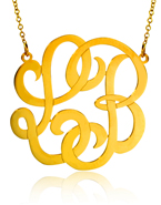 Gold POSH Monogram