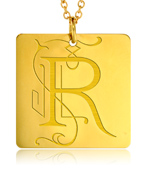 Gold Square R