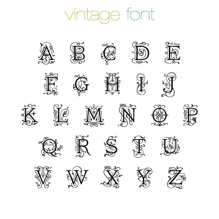 Fonts | POSH Mommy Jewelry