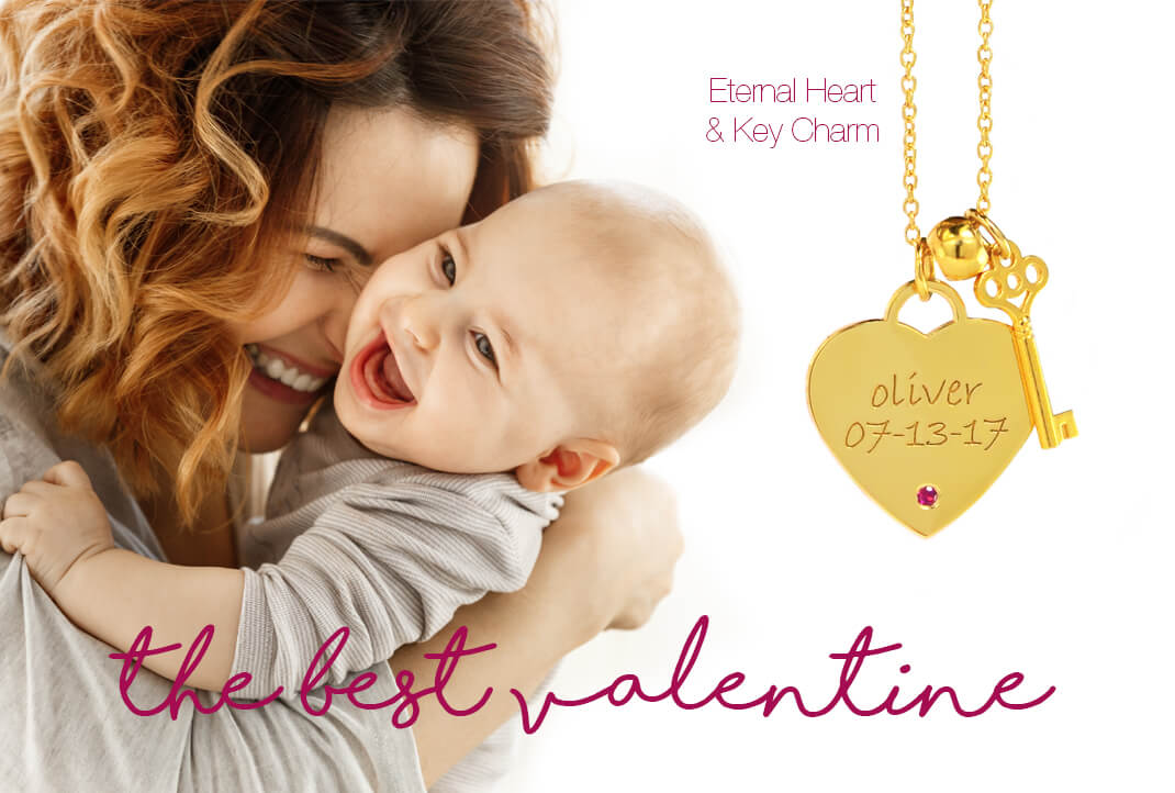 Mommy Personalized Heart Necklaces