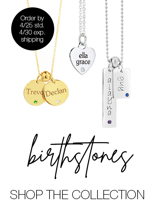 Birthstone Mommy Necklaces