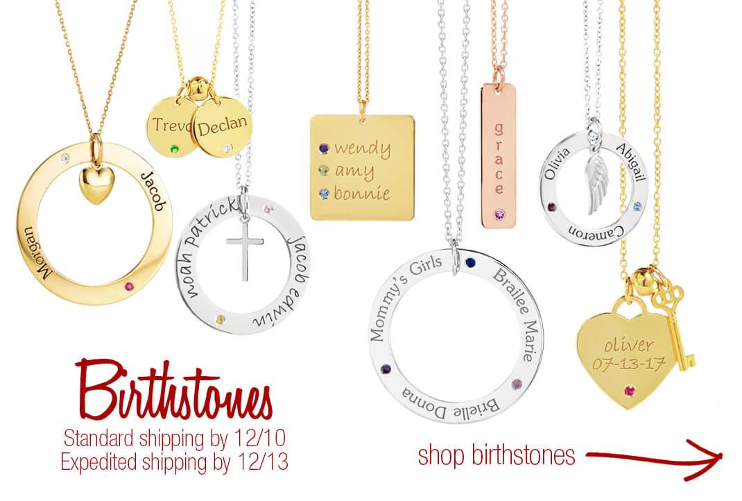 Birthstone Mommy Jewelry