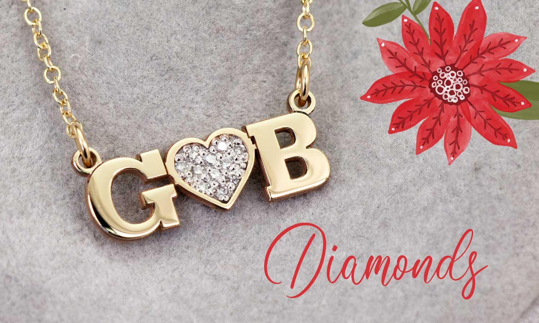 Diamond Mommy Necklaces