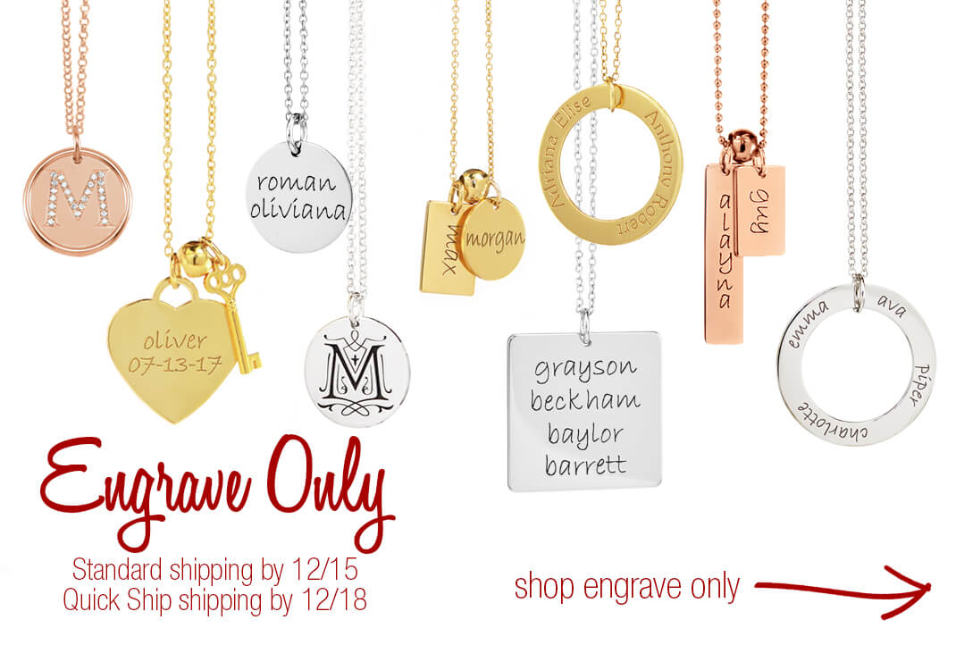 Ready to Ship Personalized Mommy Jewelry