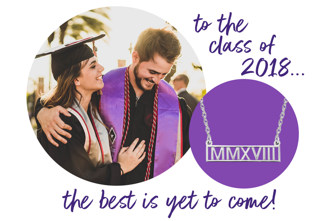 Graduation Gifts for the Class of 2018 - Roman Numeral Gifts