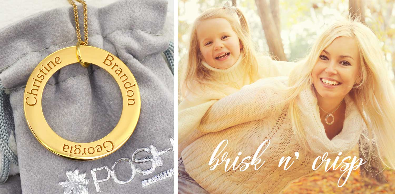 Mommy Circle Necklace