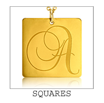Family Square Necklace
