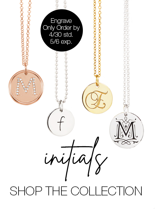Mommy Initial Necklace