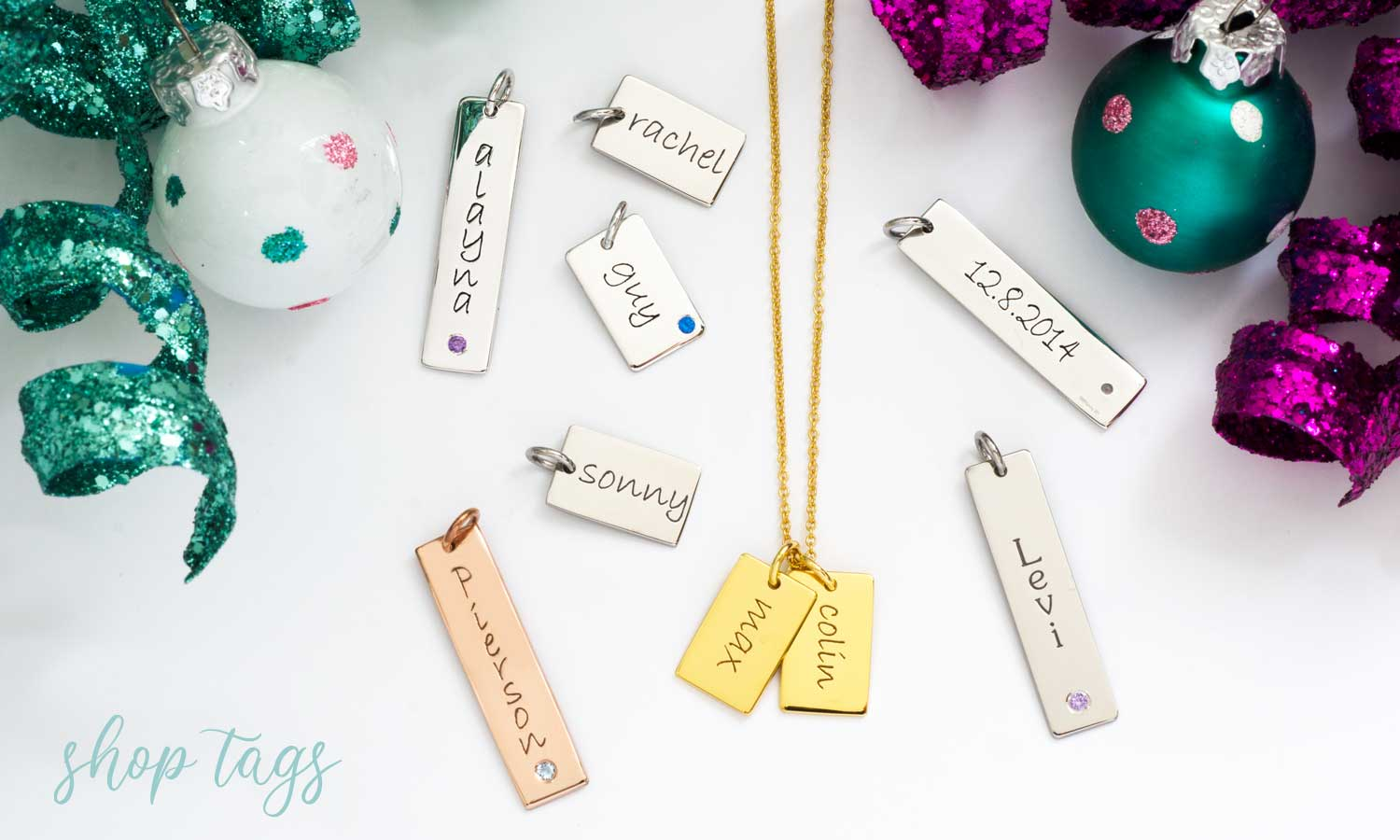 Mommy Tiny Tags Necklaces
