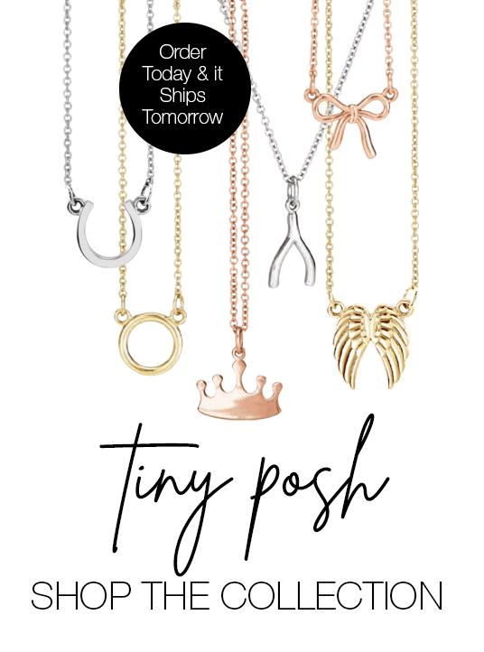 Tiny POSH Necklaces