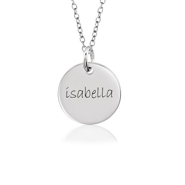 Mommy Disc Necklace Personalized Jewelry