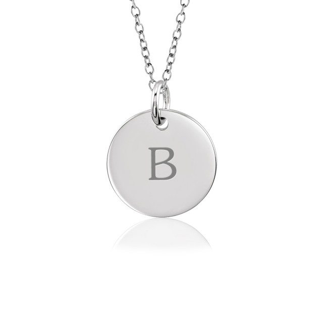 Tanner Initial Disc Mommy Necklace Personalized Jewelry