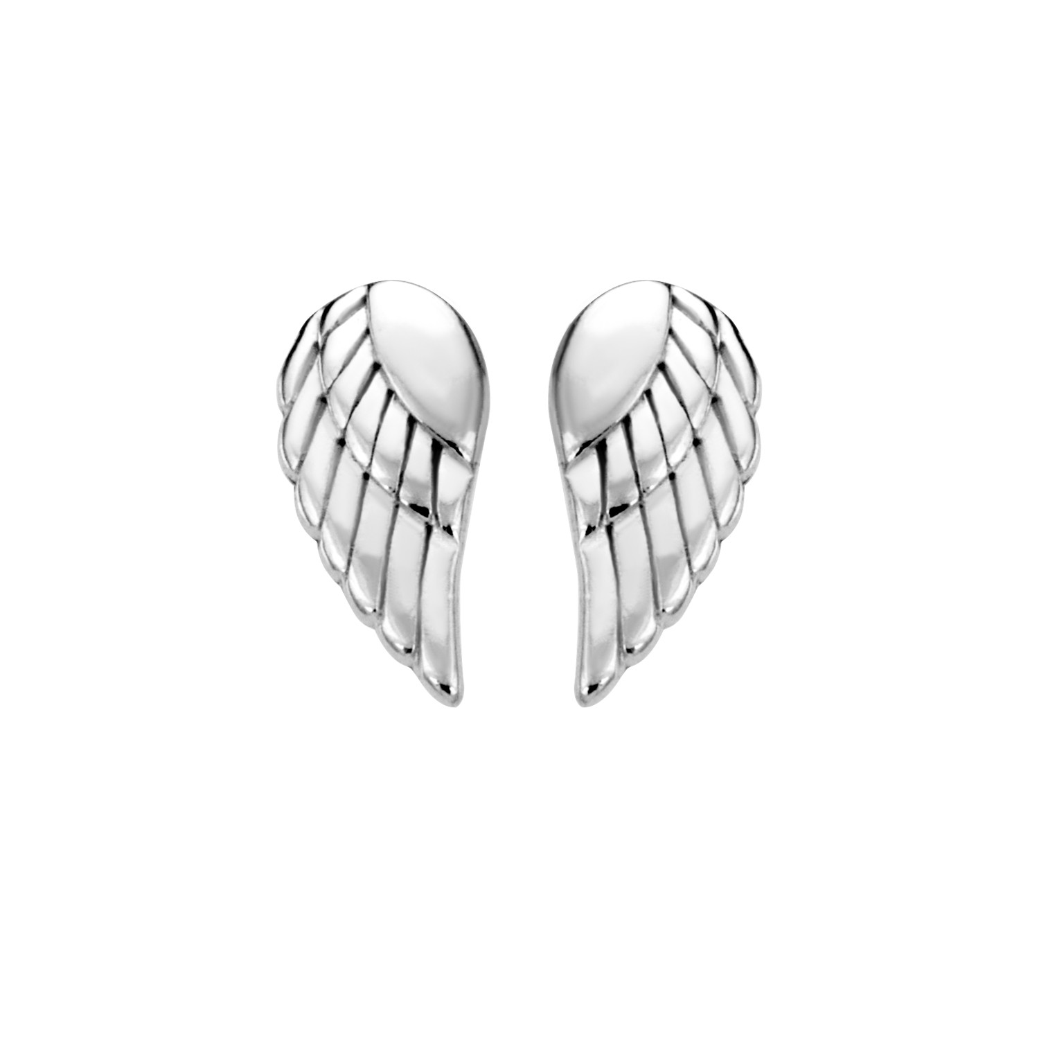 Description Details Reviews These Precious Sterling Silver Tiny Posh Angel Wing Earrings