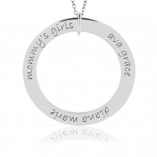 Forever Loop Mommy Necklace Personalized Jewelry