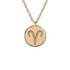 Rose POSH Zodiac Sign Necklace