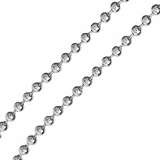 Close up of Ball Chain Necklace