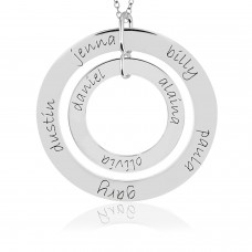 Forever and Wee Loop Combo Mommy Necklace