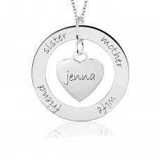 POSH Loop & Sweetheart Mommy Necklace