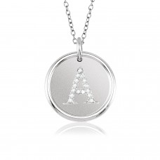 ROXY Diamond Initial Necklace