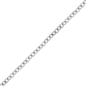 "14K Gold Cable Bracelet 7"""