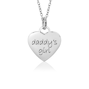 Daddy's Girl Sweetheart Necklace