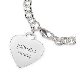 Eternal Heart Bracelet