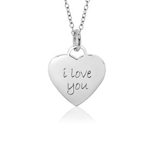 White I Love You Sweetheart Necklace