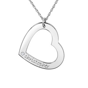 LOVE NY Large Birthstone Heart Loop
