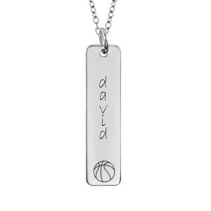 Basketball Tall Tag
