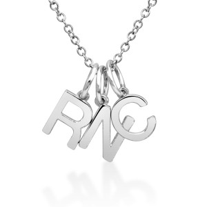 bePOSH Stackable Initial Charm