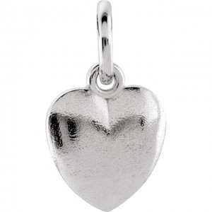 Yellow Heart Mommy Charm