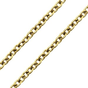 Yellow Gold Filled Cable Chain 1.5mm