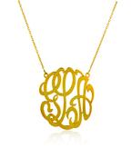 Gold Monogram